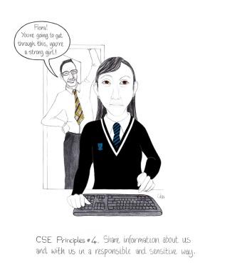 CSE principles 4 Share information