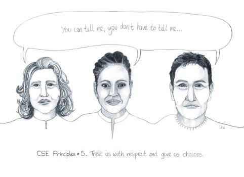 CSE principles postcard 5 We like workers who